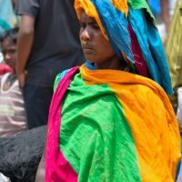 Street photography in a sea of faceless Indians