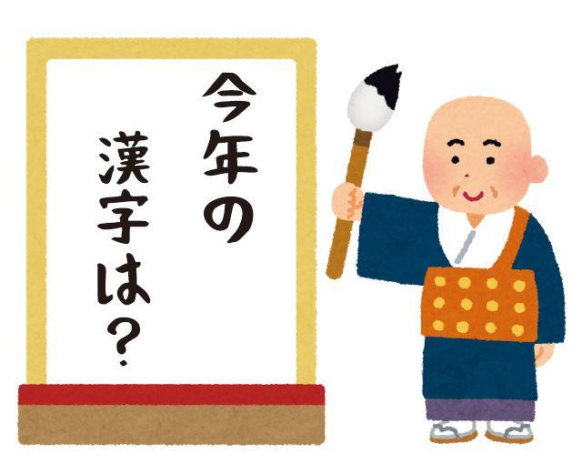 今年の漢字2019/結果発表&トップ10!歴代漢字一覧!!