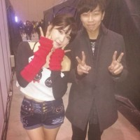 SNSD's Tiffany snapped a lovely photo with GenNeo