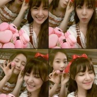 SNSD's TaeYeon and Tiffany posed for a batch of adorable SelCa pictures!