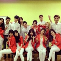 Check out SNSD's photos with their backup dancers for 'Mr. Mr.'