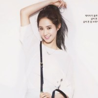 SNSD's lovely Yuri for InStyle magazine's May issue!