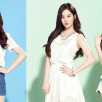 The lovely TaeYeon, Tiffany and SeoHyun of SNSD for 'MIXXO'