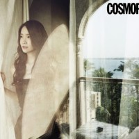 Girls' Generation's lovely YoonA for Cosmopolitan's July issue