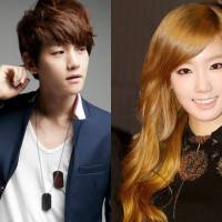 SNSD's TaeYeon reported to be dating EXO's Baekhyun!