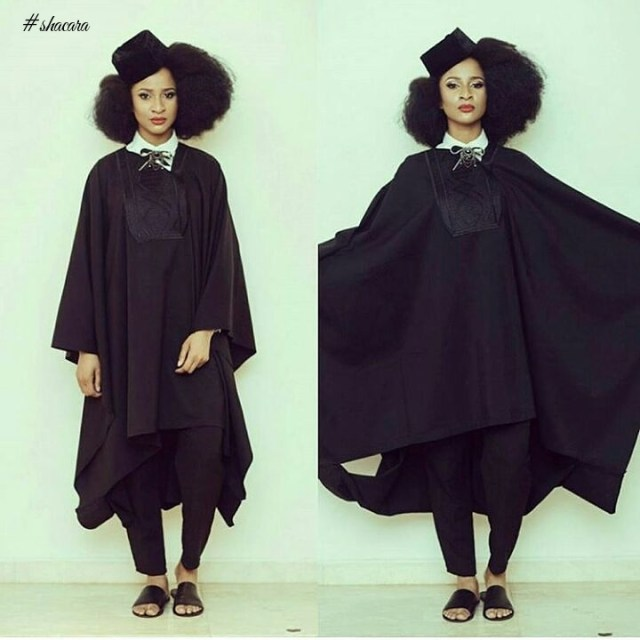 2018 Best Short Agbada Styles For Women
