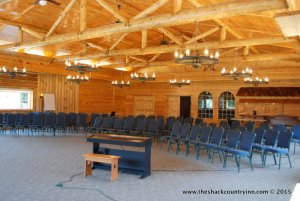 conference banquet room - image