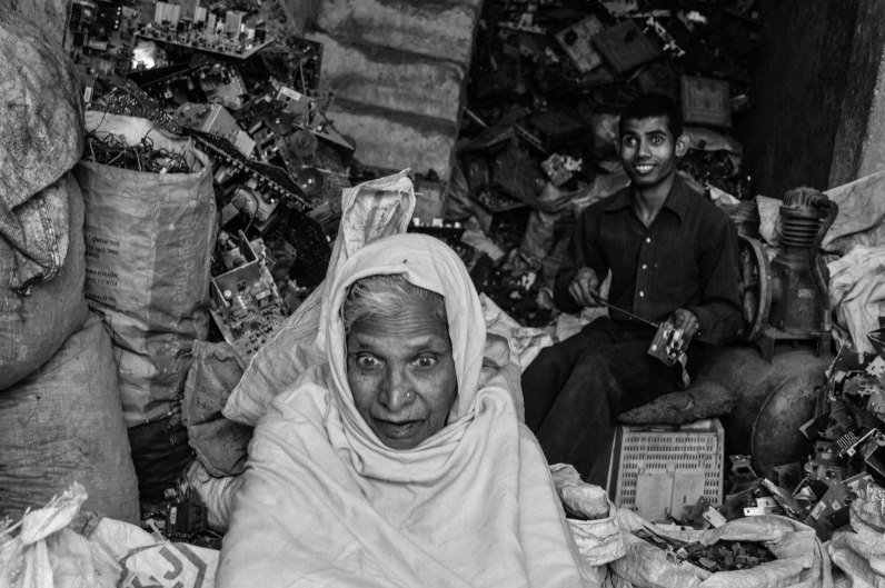 """""""My grandson is retarded. My daughter in law is a witch. I have told my son so many times to go for some other business. There is no profit in it, but who listens to me. Eh?"""" says Fahimda Khatoon, who is fed up after his grandson was born mentally challenged. She blames the computers for it. And the fumes around."""