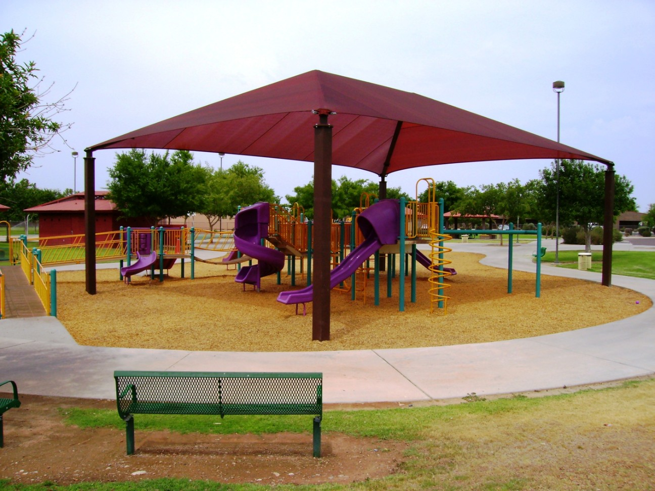 Parks Amp Recreation Shade Structures Shade N Net