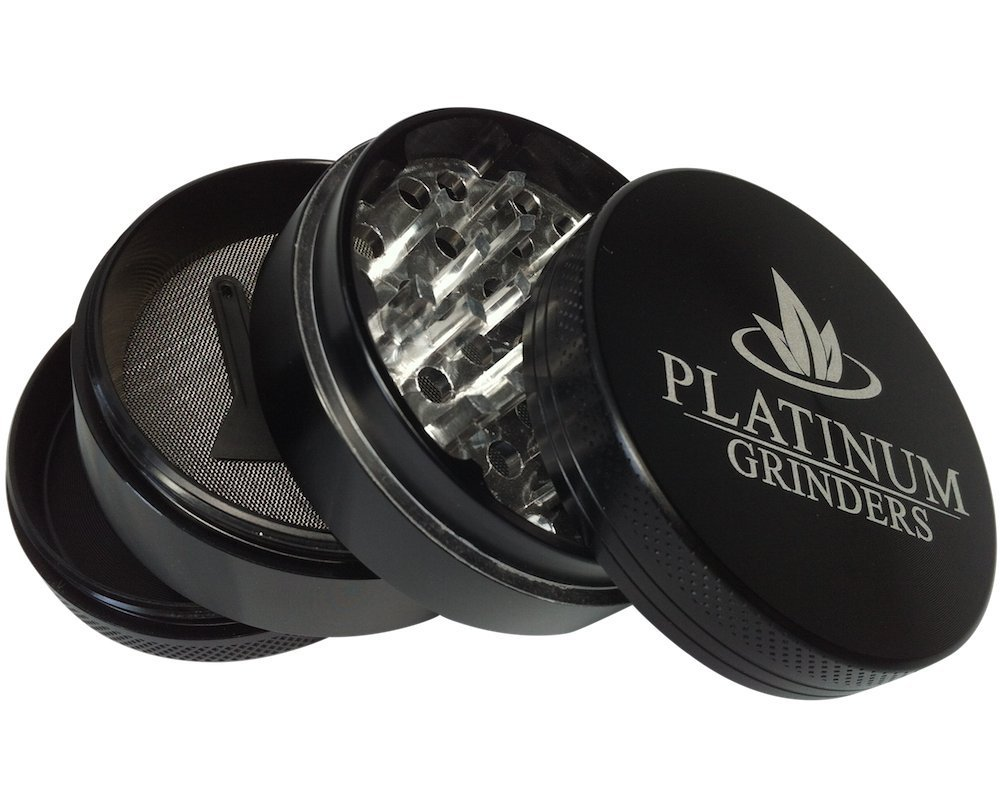 Platinum Grinders - Herb Grinder with Pollen Catcher