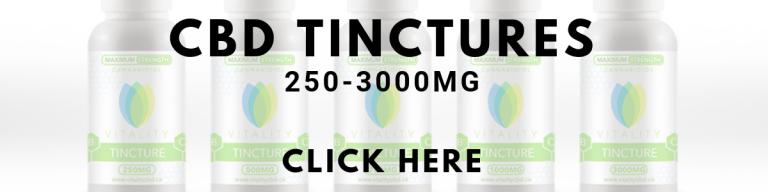 CBD Tintures - vitality