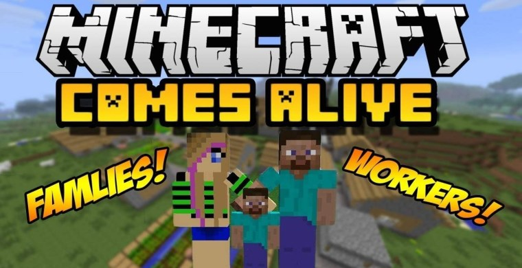 Minecraft Comes Alive Mod for Minecraft 1.12.2/1.11.2/1.10.2