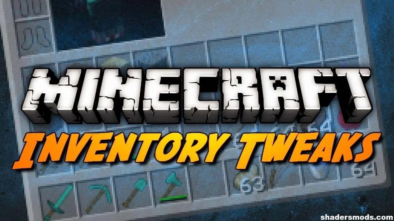 Inventory Tweaks Mod for Minecraft 1 12 2/1 11 2/1 10 2