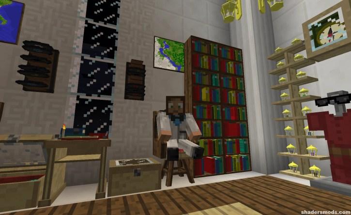 Bibliocraft Mod for Minecraft 1 12 2/1 11 2 | Shaders Mods