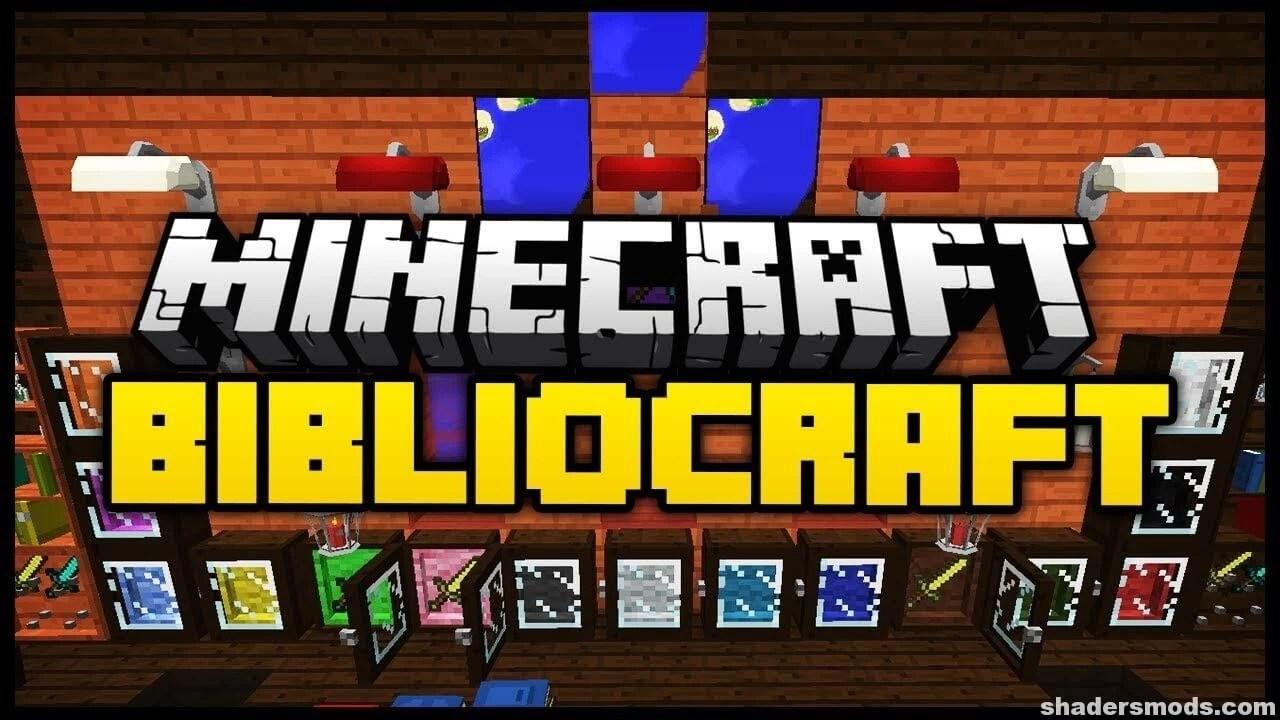 Bibliocraft Mod For Minecraft 1 12 2 1 11 2 Shaders Mods