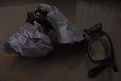 A Crumpled Piece of Paper :: A Point of View