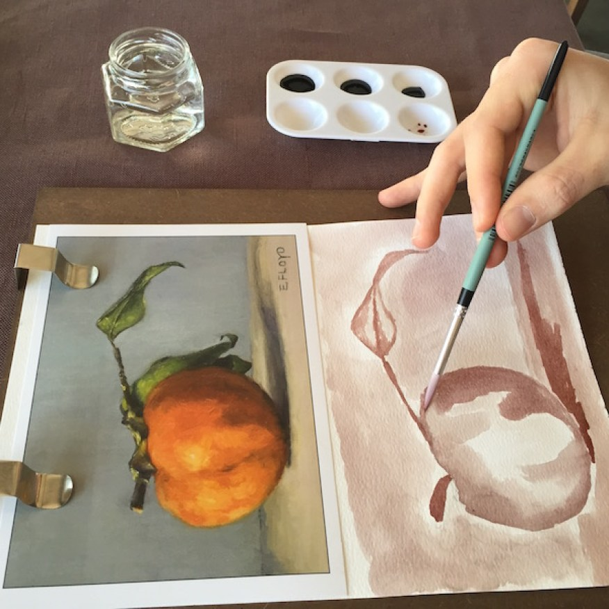 Painting Persimmon