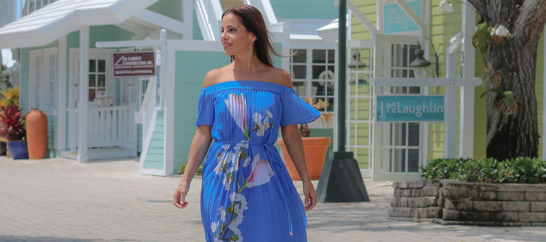 Harmony Off-Shoulder Dress For Spring