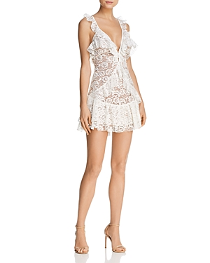 Tati Ruffled Lace Dress