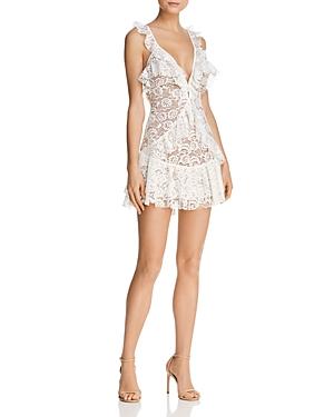 Tati Ruffled Lace Dress