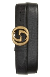 Father's Day mens Gucci interlocking-g leather belt