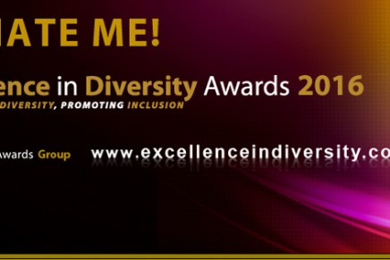 Make a nomination for the 2016 Excellence in Diversity Awards