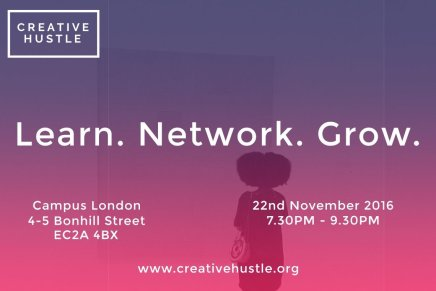 Creative Hustle November: Learn. Network. Grow.