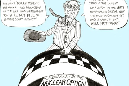 Mitch McConnell triggers the Nuclear Option