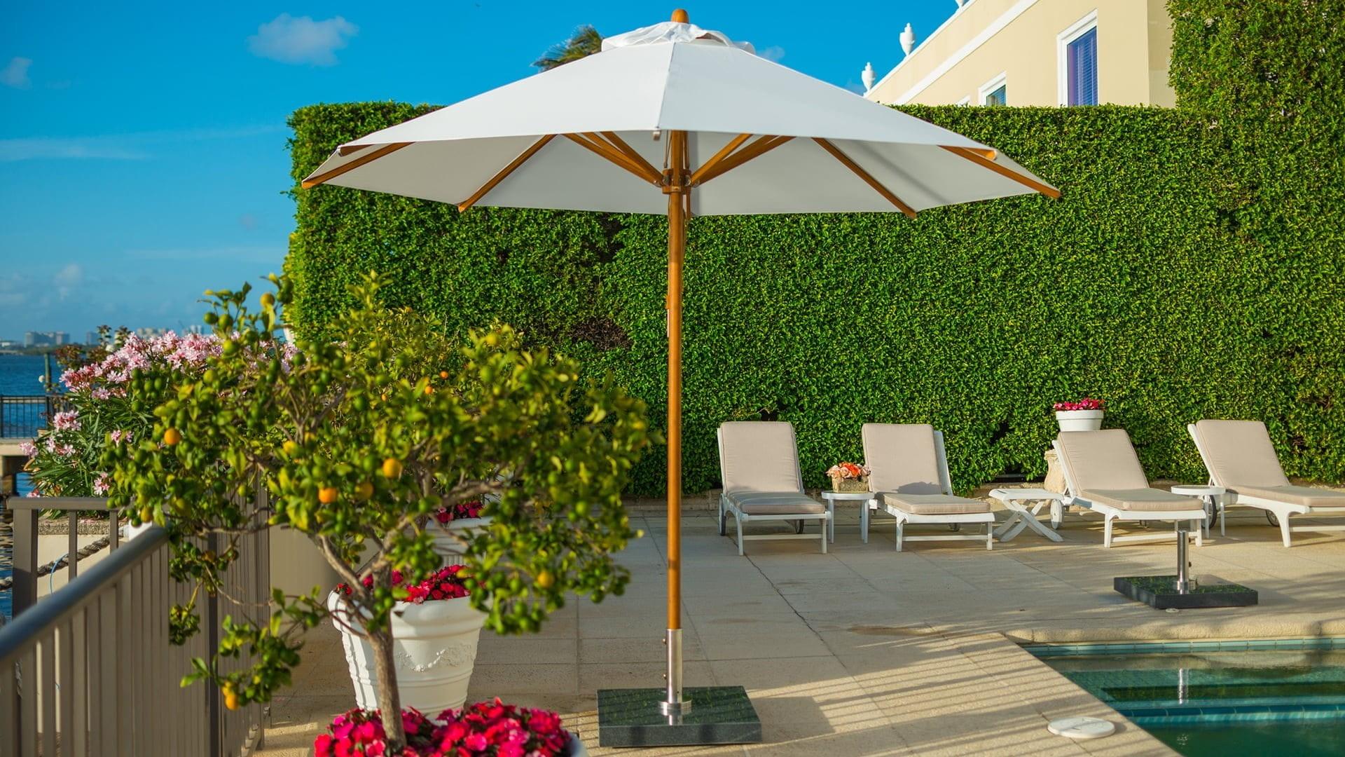 commercial parasols garden umbrellas