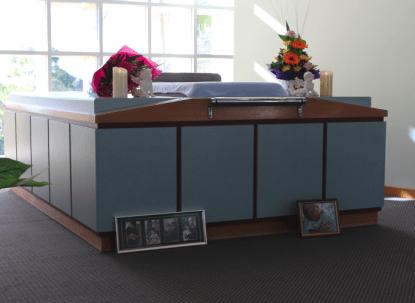 crematory pedestal