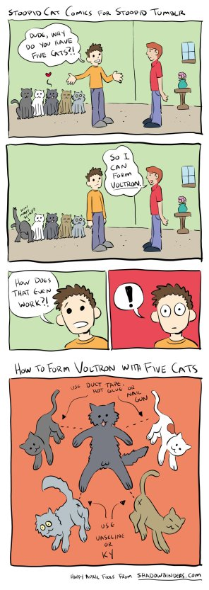 Tumblr Cat Comics Voltron
