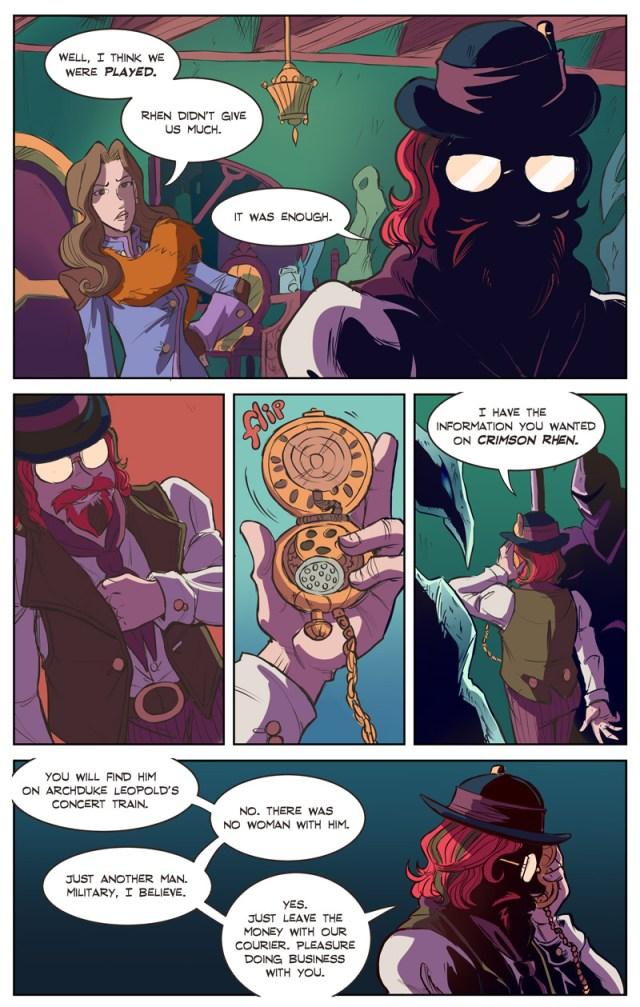 webcomics webcomic web comic shadowbinders fantasy comics online