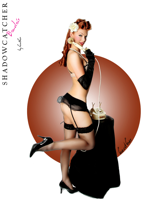 Vintage Pin-Up Calendar Girl Photography makes a comeback! San Diego Pin-Up Calendar Girl Photography (5/6)