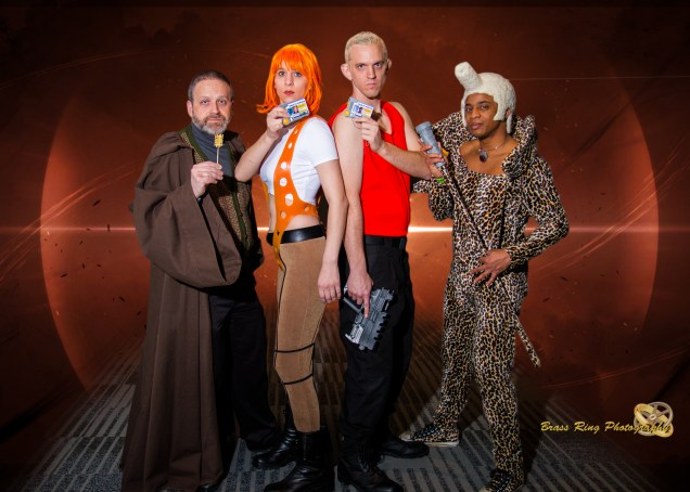 5th Element Group at Ohayocon Photo by Brass Ring Cosplay Photography