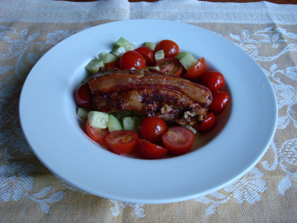 Fergus Henderson's Brined Roasted Pork Belly