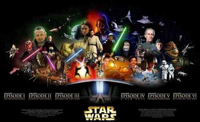 "The ""Star Wars"" Saga under George Lucas."