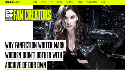 SYFY-wire-fan-creator-mark-wooden-home-page