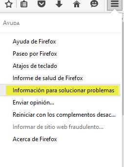 donde eliminar el malware de tu firefox
