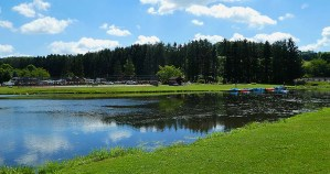 Another picture of a lake in the campground