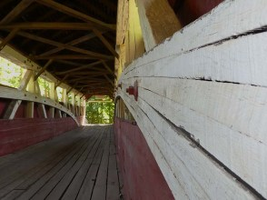 A shot showing the geometry of the inside of the bridge