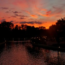 Sunset from Epcot