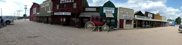 Old West Town and Saloon
