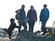 Teal'c dancing at Deception Pass State Park