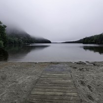 Long Pond in the fog