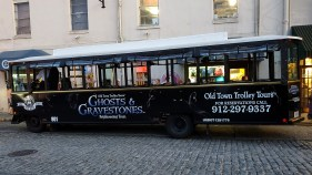 Ghost Tour Trolley