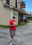 Stopped at the local general store for some sweets