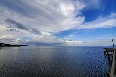 Hurricane Dorian sent clouds all the way north