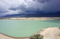 Amazing color of the reservoir!
