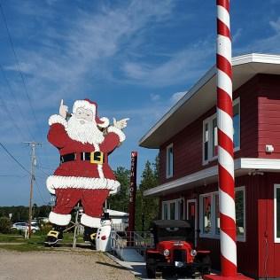 Santa in Christmas, MI