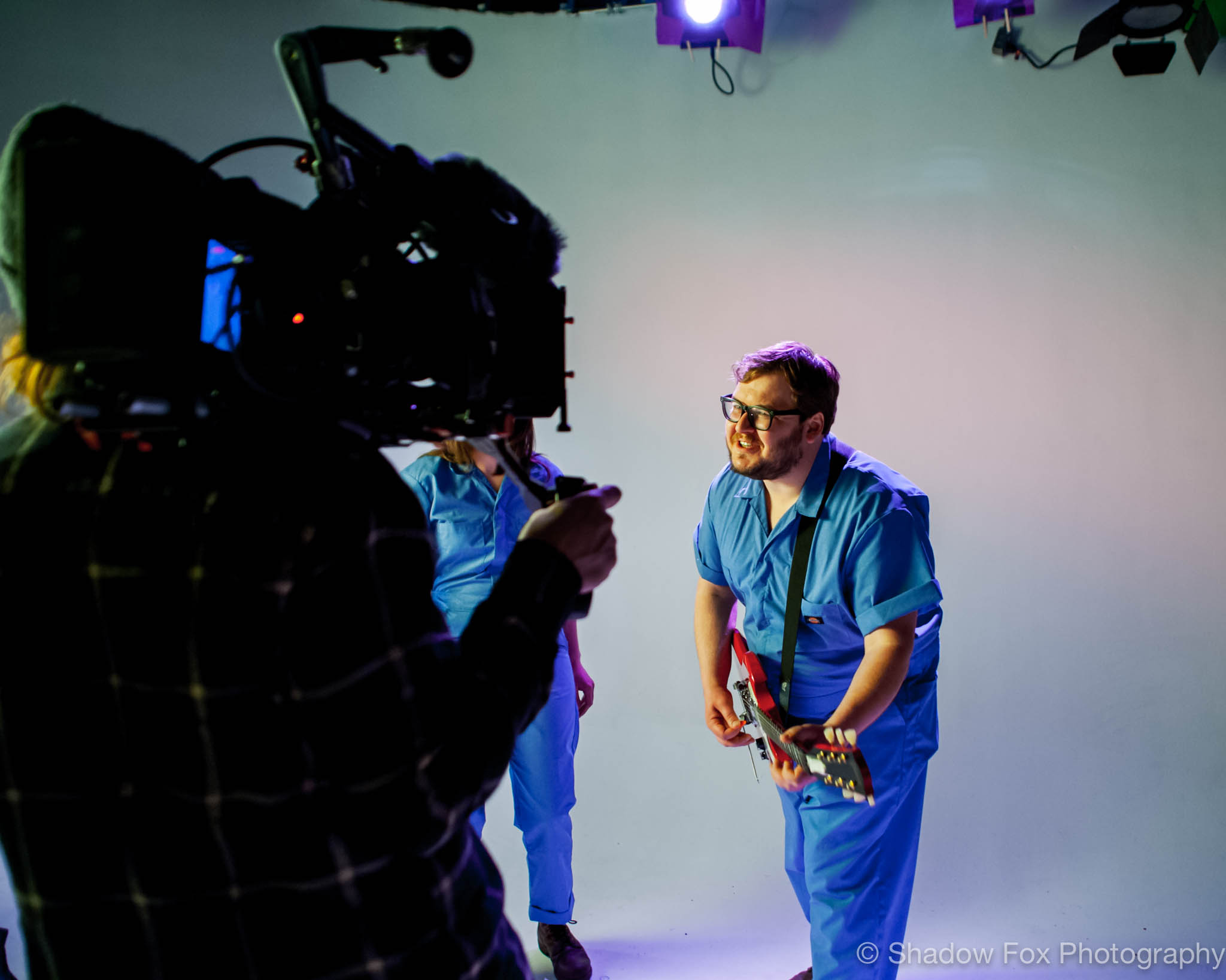 Crystal City Three Dimensionality music video shoot in Des Moines, Iowa